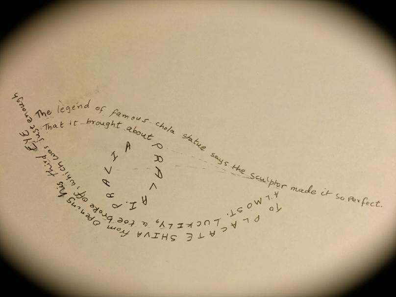 Third Eye Calligram