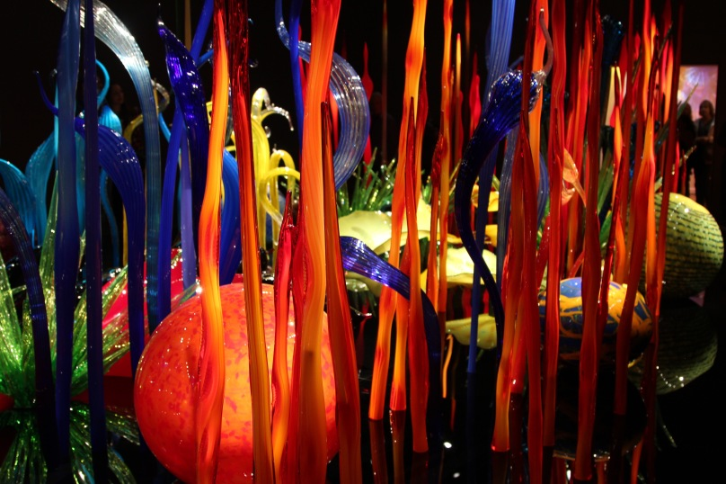 Picture from Dale Chihuly museum in Seattle